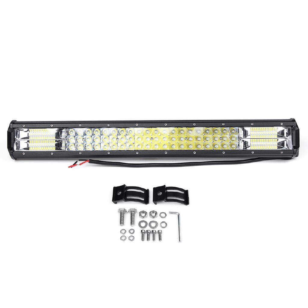 Car Lights - 324W 23Inch LED Work Light Bar Combo Driving Lamp Offroad SUV ATV UTV 4WD Trucks, Off-road vehicles - Replacement Parts