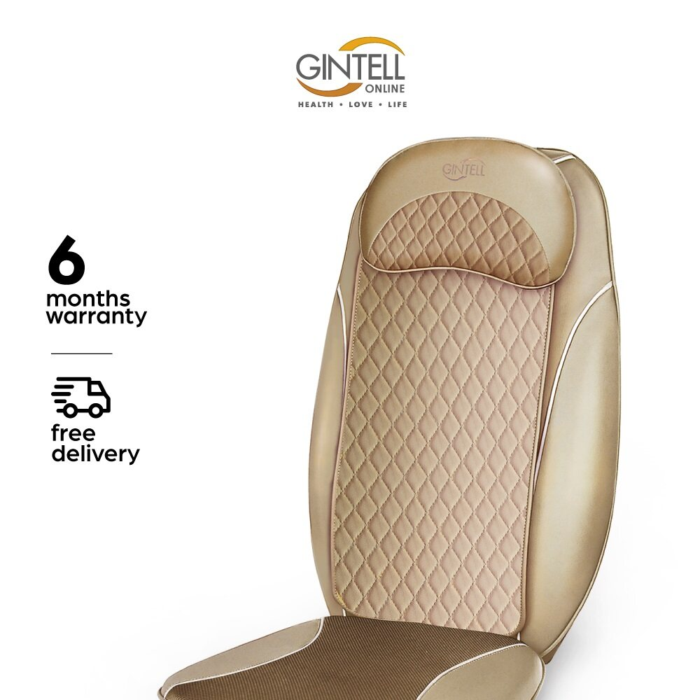 [FREE SHIPPING] GINTELL G-Mobile EZ Portable Massage Cushion (Upgraded Version) Showroom Unit