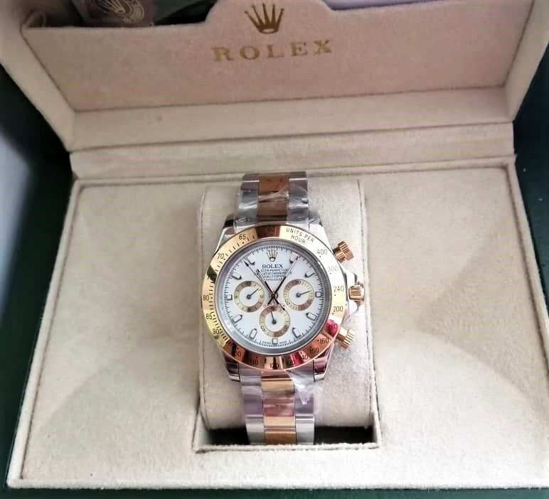 Rolex_Daytona_Oyster_Perpetual_ Mineral Glass Automatic Man Watch With Free Genuine Gift Box