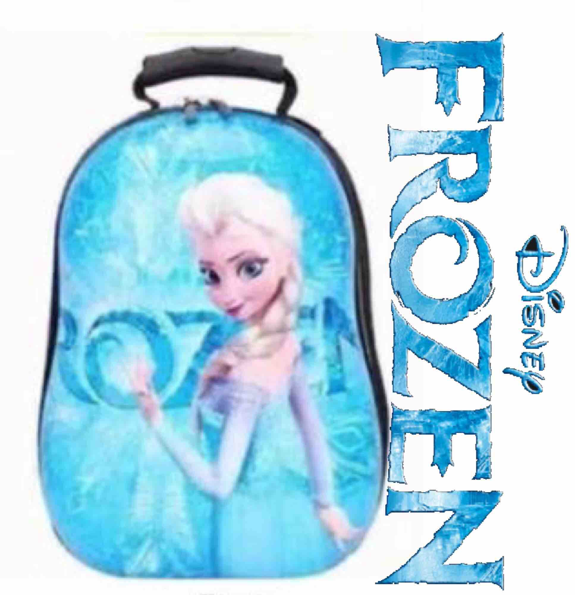 Ready Stock Disney Frozen Back Pack For Kids Gift With Free 1 Set Stationary Gift