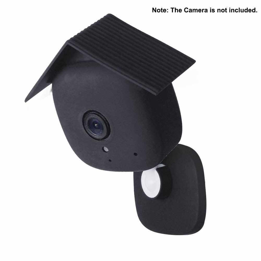 Best Selling 1pc DF3024-1 Silicone Weather-Proof Skin Set for Kasa Spot Indoor Security Camera Silicone Case Cover Anti-Scratch Protective Cover (Black)