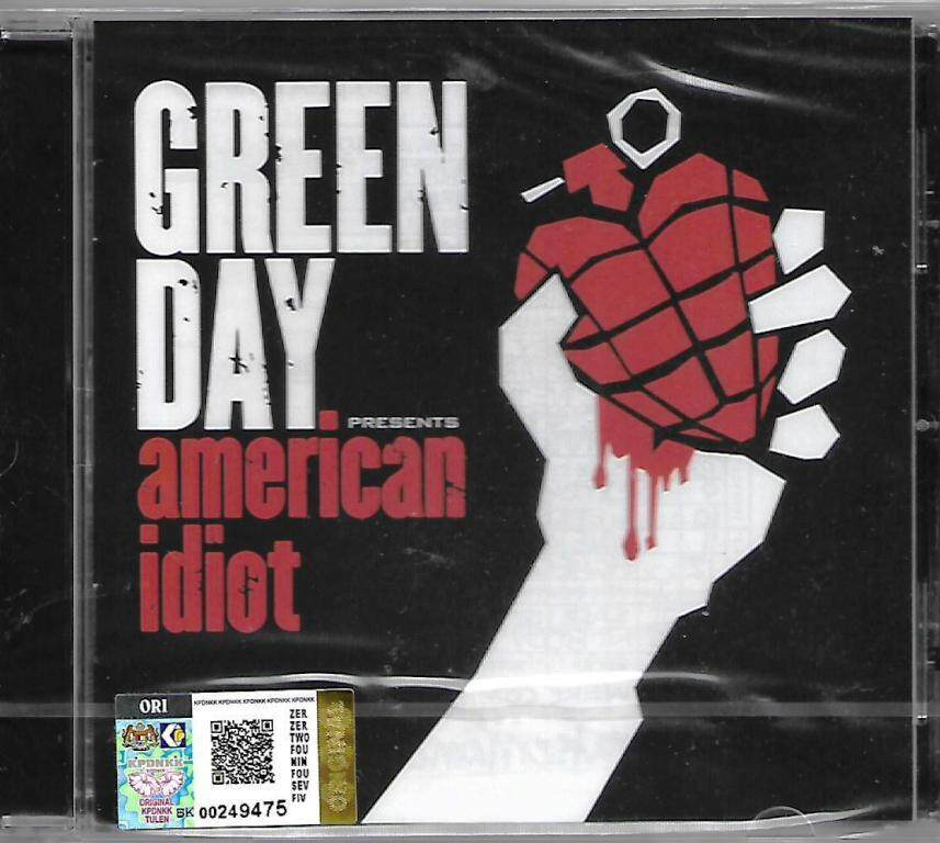 Green Day Presents American Idiot Imported CD Parental Advisory Explicit Content