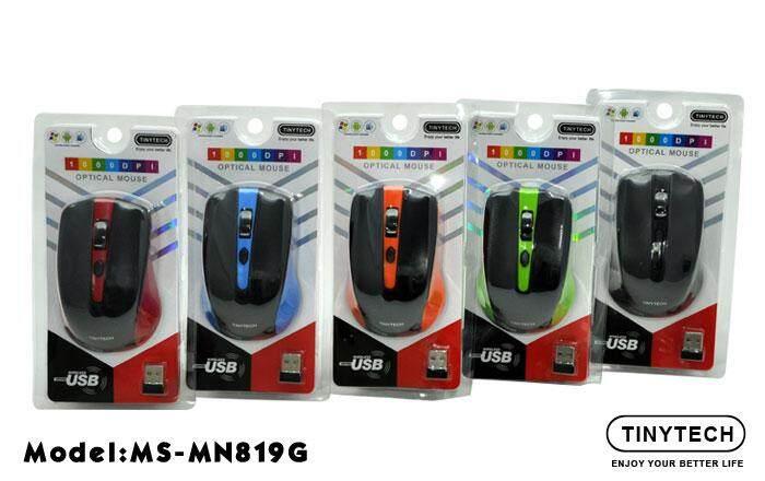 Tiny tech wireless mouse-black