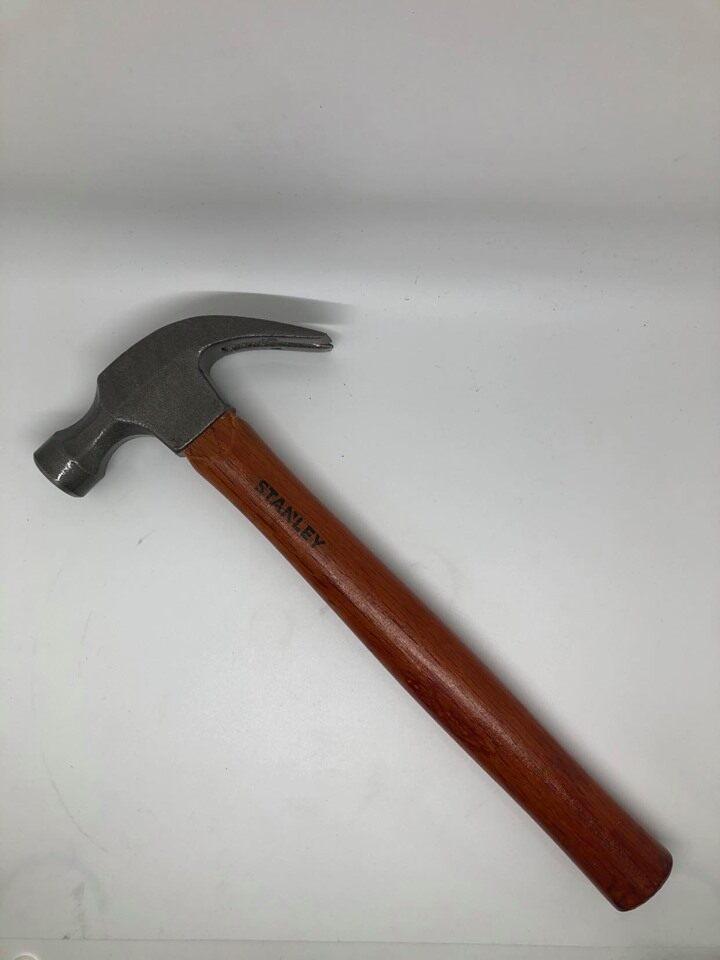 Stanley STHT51339-8 16oz/27mm Stanley Wood Handle Claw Hammer / Tukul Besi