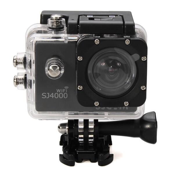 Sports & Action Cameras - SJcam SJ4000 WiFi Car DVR Camera Sport DV Novatek Waterproof - BLACK / RED / SILVER / GOLD / BLUE / YELLOW / WHITE