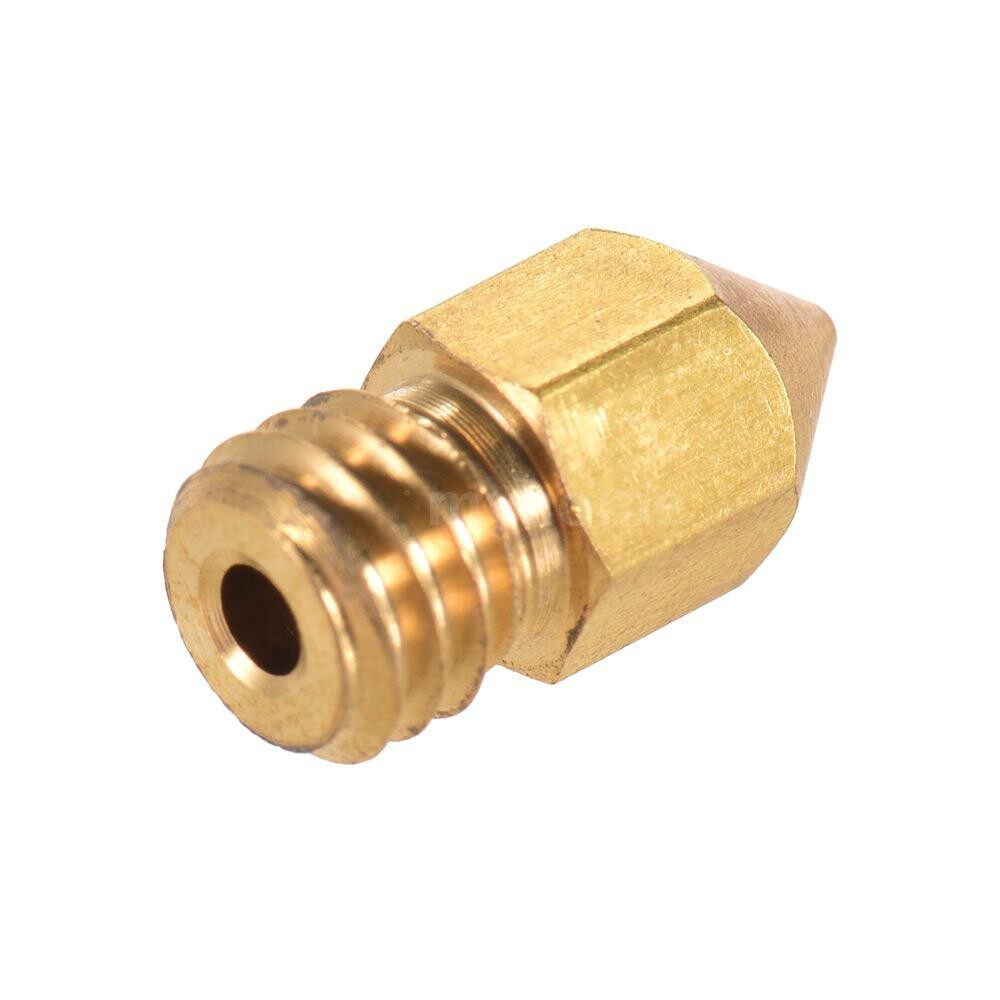 Printers & Projectors - Creality 3D Printer Extruder Brass Nozzle Print Head 0.4mm Output for CR-10 Series Ender-3 1.75mm - GOLD-10 PIECE(s) / GOLD-1 PIECE(s) / GOLD-5 PIECE(s)