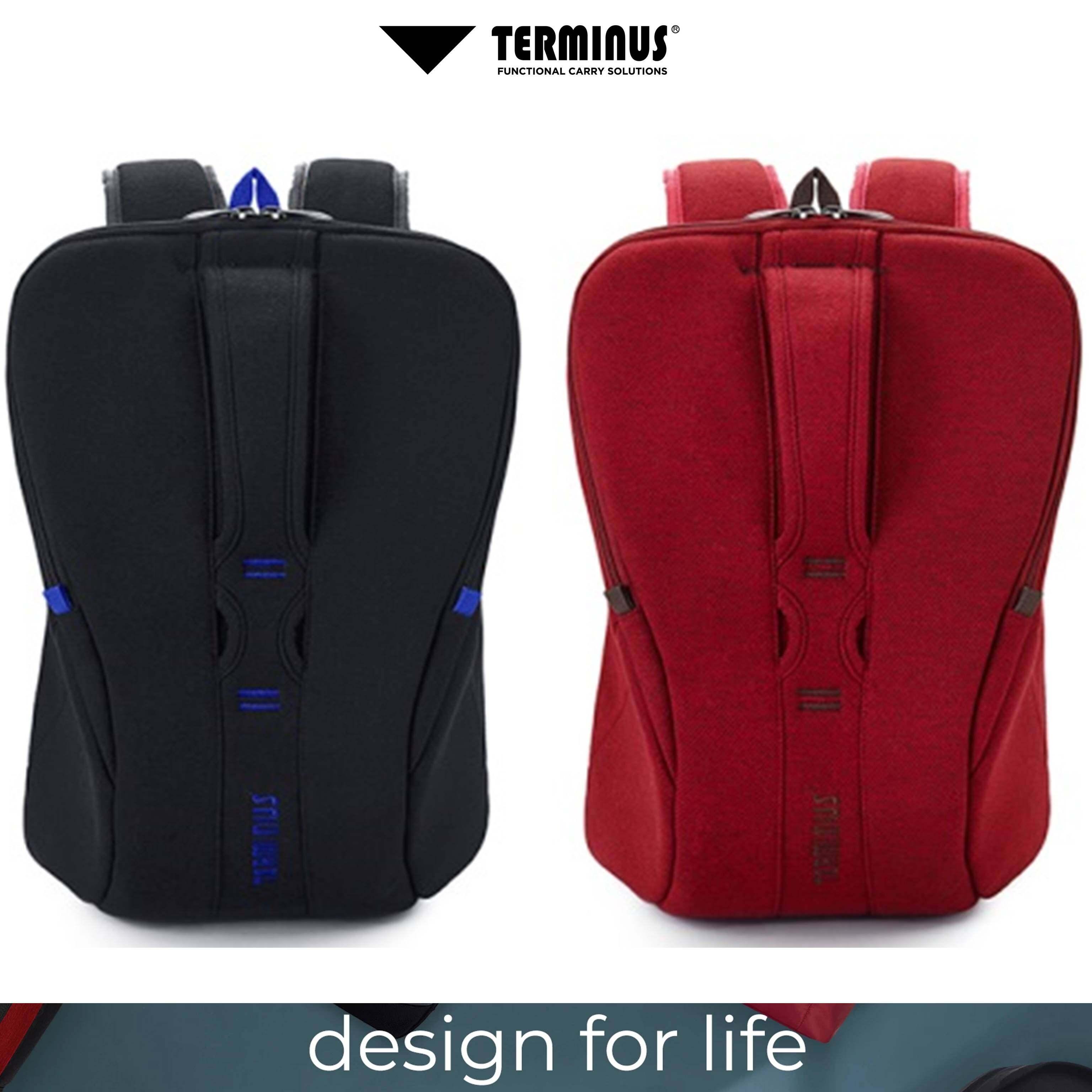 TERMINUS ® WOOLEVARD 3.0 Anti Theft Backpack Business Laptop Backpack Water Resistant Bookbag Travel College School Bookbag Computer Bag