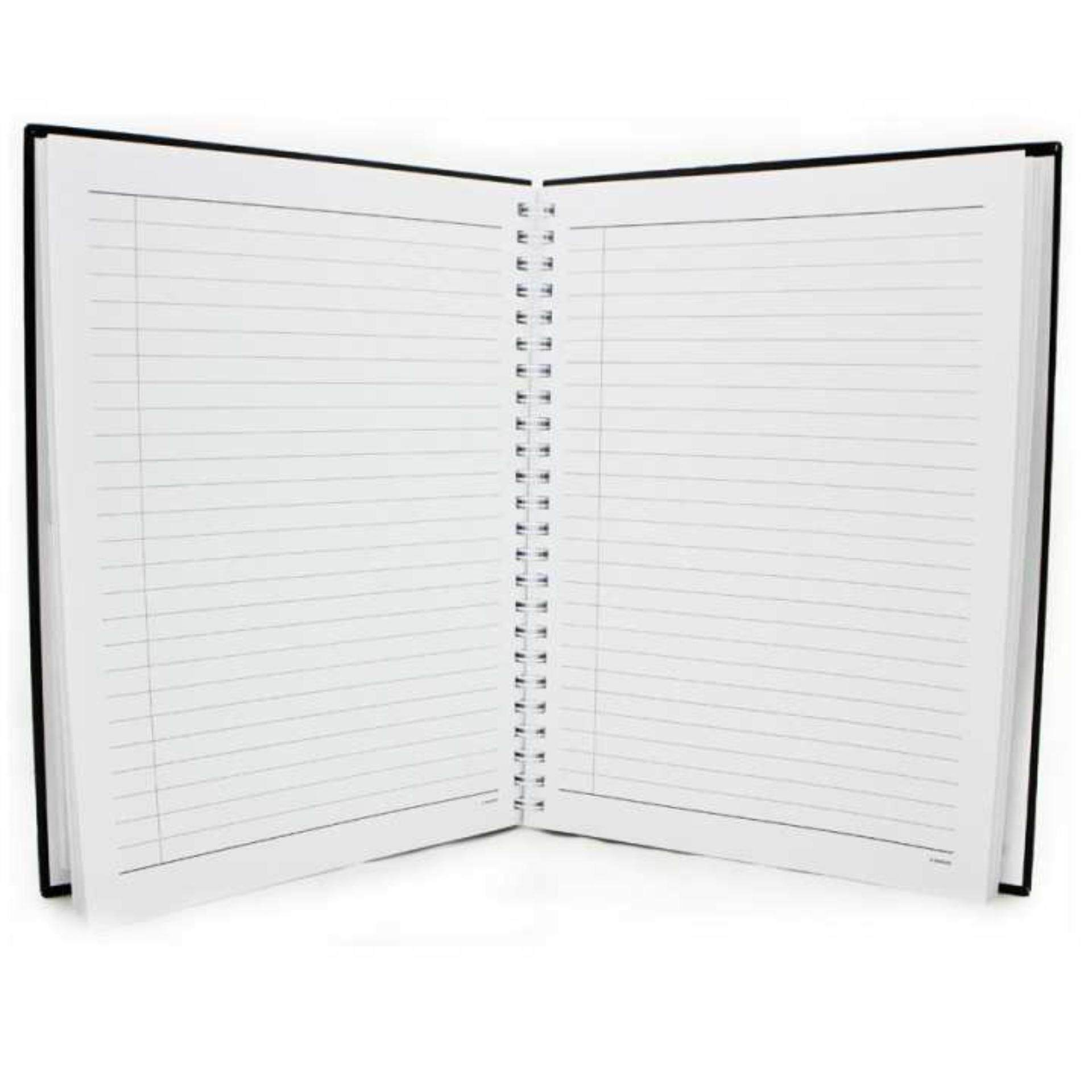 Marvel Avengers 100 Sheets A5 Hard Cover Notebook - Black Colour