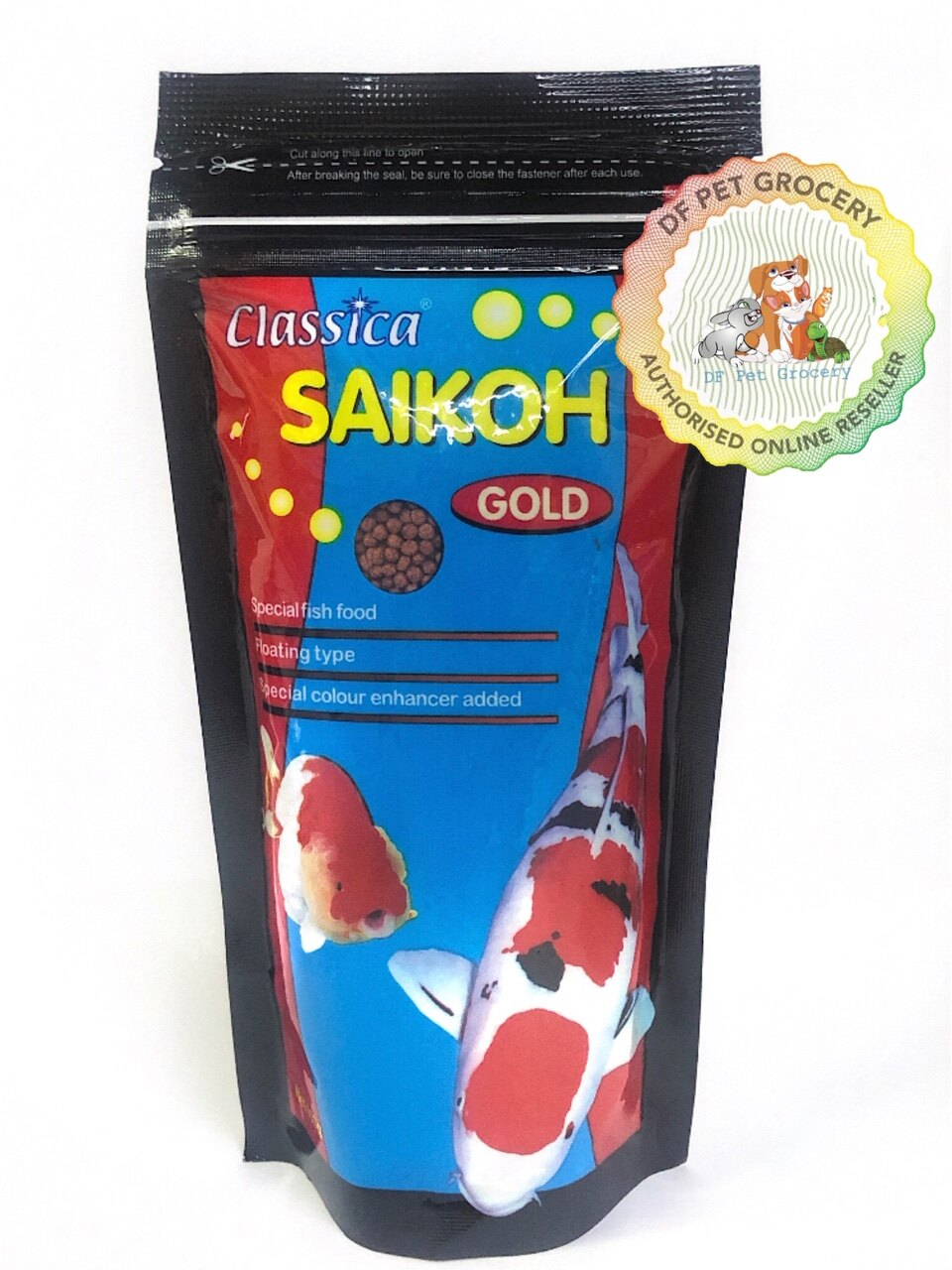 Saikoh Classica Gold Fish Food 100g (S Size) 2mm FF662