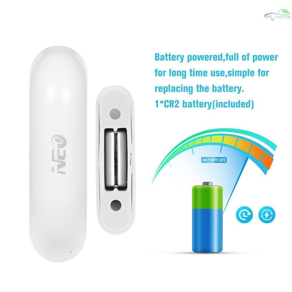 Sensors & Alarms - NEO Home Door/Window Detector WiFi App Notification Alerts Battery Operated Home Security Sensor - WHITE