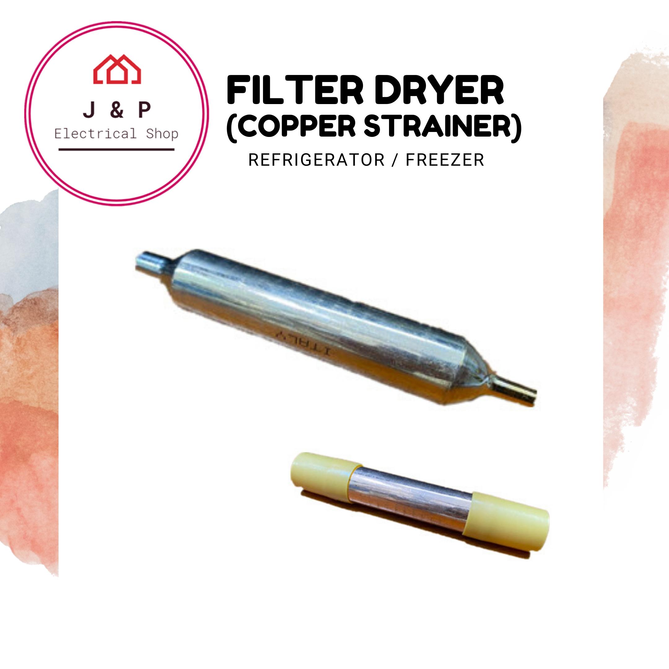Filter Dryer (Copper Strainer) for Refrigerator / Freezer [ READY STOCK]1357538073-1597912814365-0