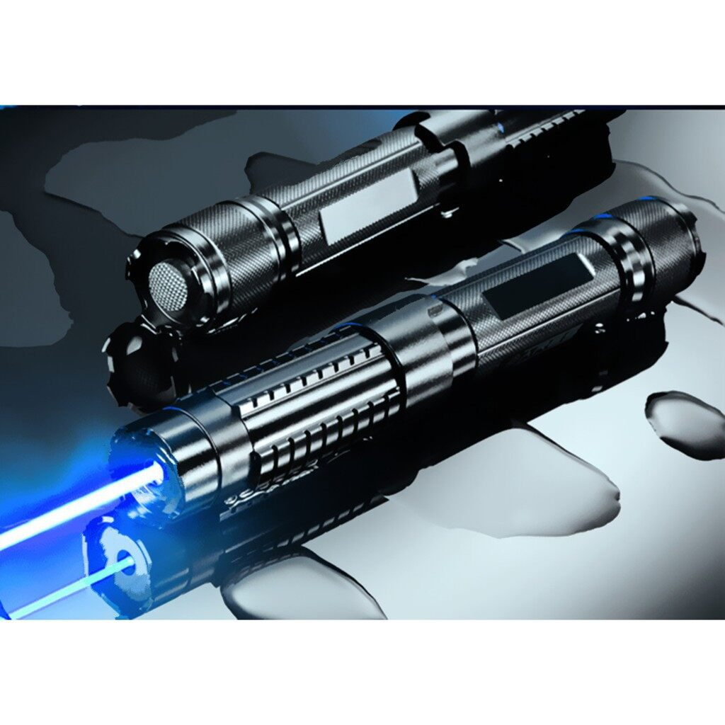 Chargers - High Power Blue Laser Pointer 10000m Lazer Pen - Cables
