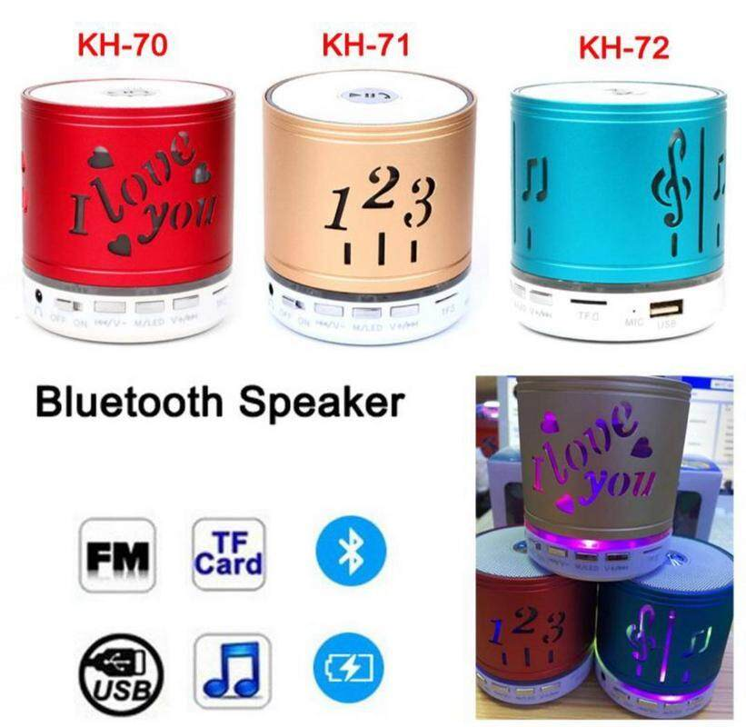 1,2,3 Mini Bluetooth Wireless Speaker FM, Memory Card, Bluetooth, USB. (High Quality Speakers) BLACK