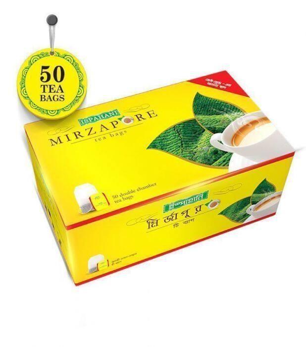 ISPAHANI MIRZAPOR TEA BAG -100 GM(50 TEA BAG)