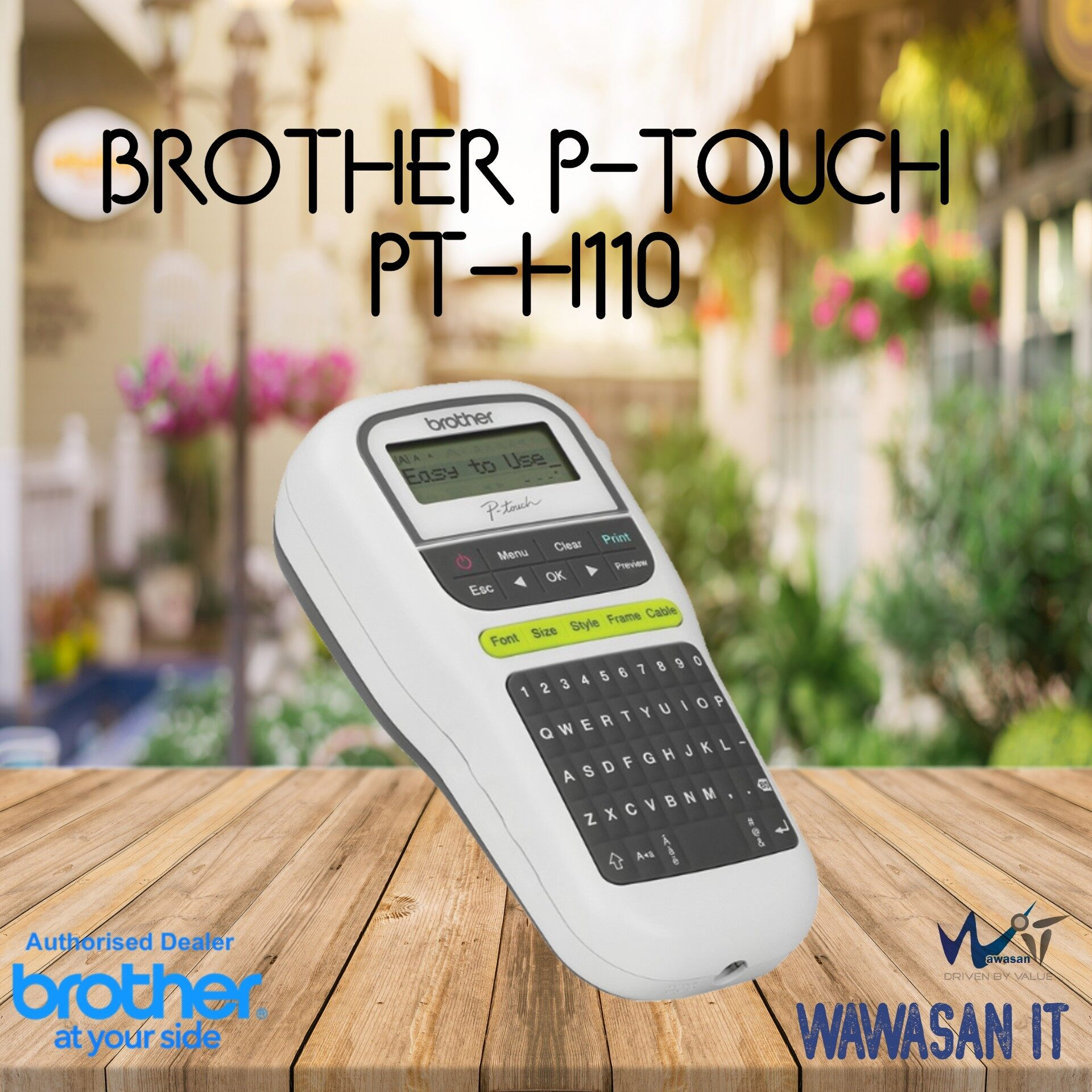 Brother PT H110