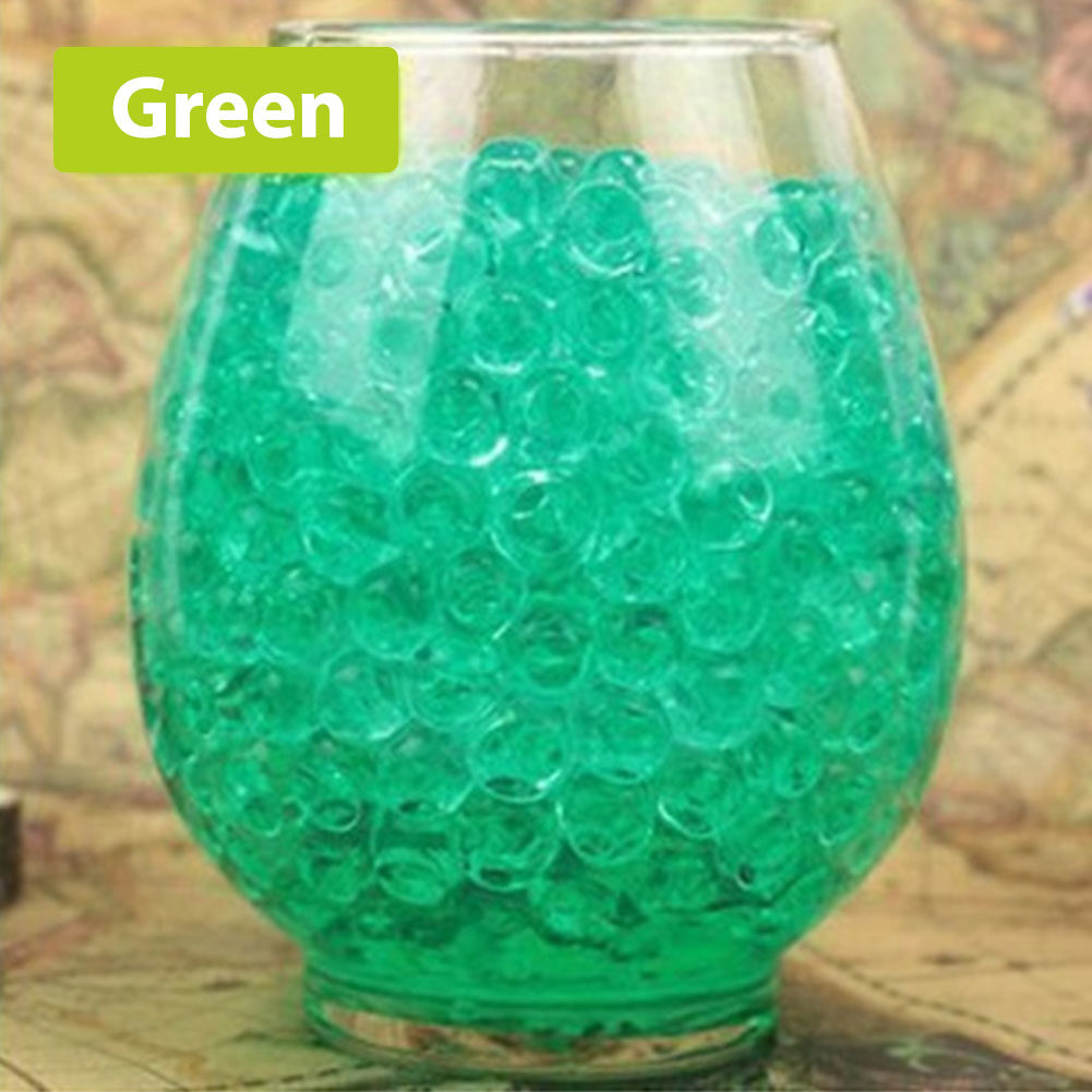 3000Pcs Crystal Mud Water Bubble Bead for Vase Filler Soil Plant decoration