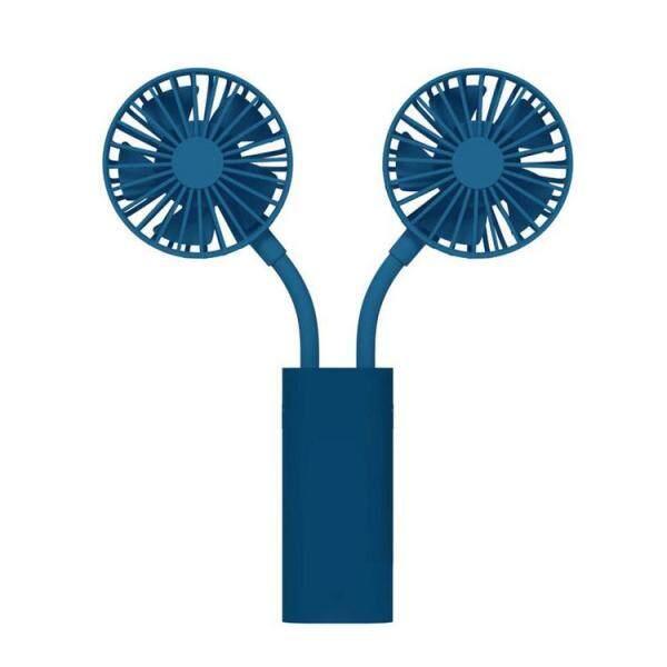 Quạt Mini Cầm Tay Kép Quạt Gấp USB Có Thể Sạc Lại Quạt Để Bàn Di Động Cho Gia Đình Văn Phòng Ngoài Trời Du Lịch