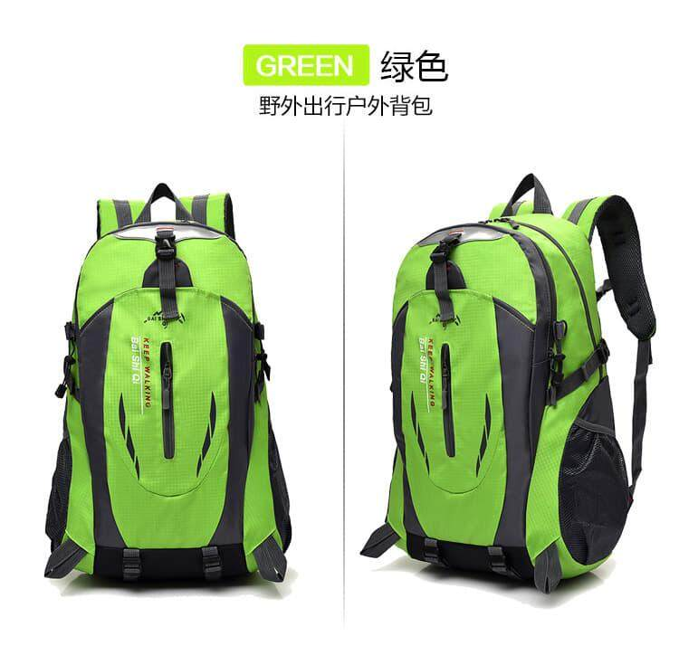 [M'sia Warehouse Direct] 2020 Korean Series Permium High Quality Waterproof Outdoor Backpack 40L Hiking Camping Sports Daypack Bag Beg Lightweight Water Resistant Multifunctional Perfect Gift For Love One