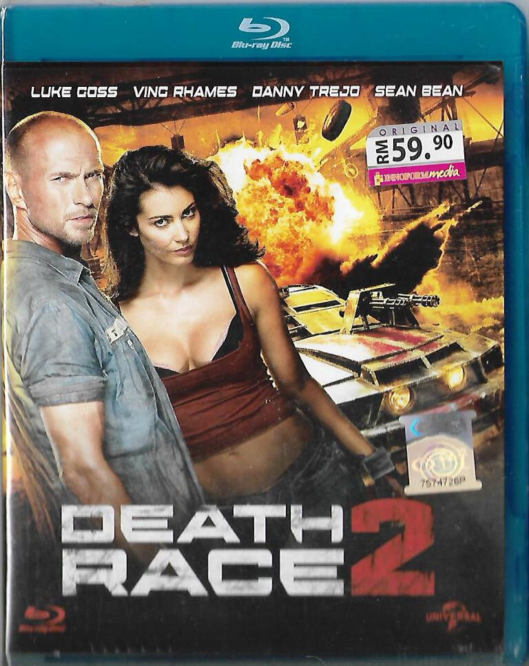 English Movie Death Race 2 Bluray 2010 Film