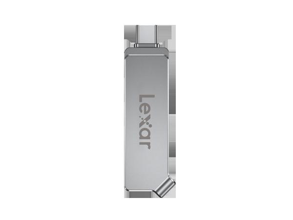 Lexar JumpDrive Dual Drive D30c - 32GB/ 64GB USB 3.1 Type-C, up to 150MB/s read and 50MB/s write (OTG)