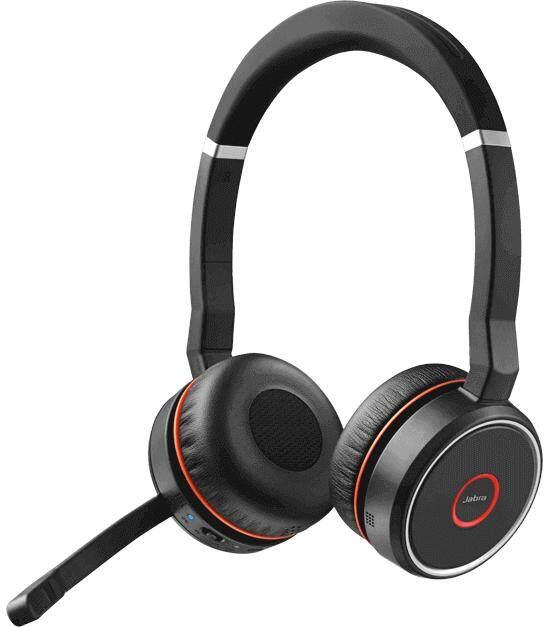 Jabra Evolve 75 Stereo MS Headset include Link 370