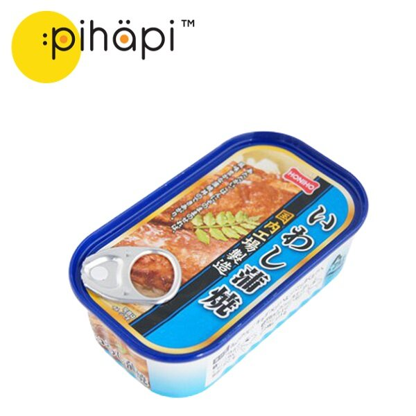 [READY STOCK & IMPORTED FROM JAPAN] HOKO Iwashi Sardine Kabayaki / 日本蒲烧沙丁鱼罐头 (100g)