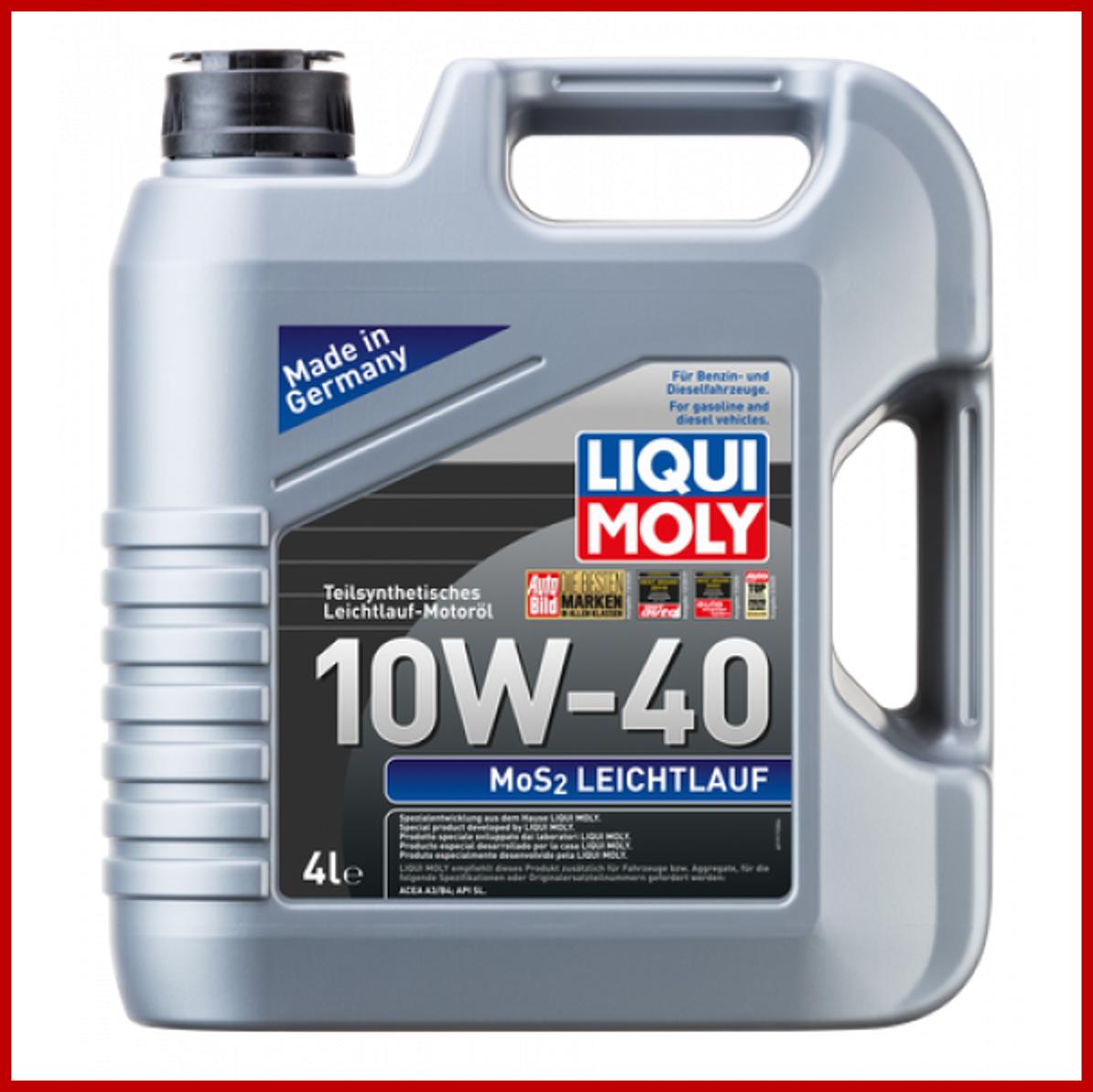 LIQUI MOLY MoS2 Leichtlauf 10W40 (4L)