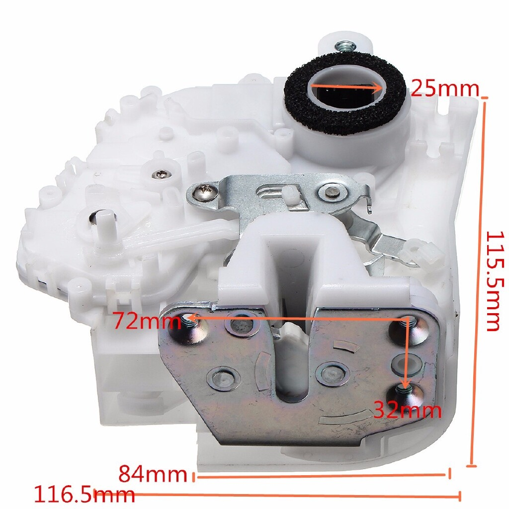 Car Lights - Right Passenger Rear Power Door Lock Latch Actuator For Honda CRV CR-V 2007-2011 - Replacement Parts
