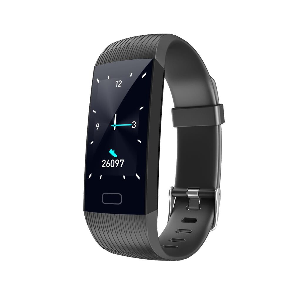 Smart Watch - Goral Z6 1.14' Big Screen Real-time Detection Social Message Display 15Days Battery Life Smart - BLACK / PURPLE / BLUE