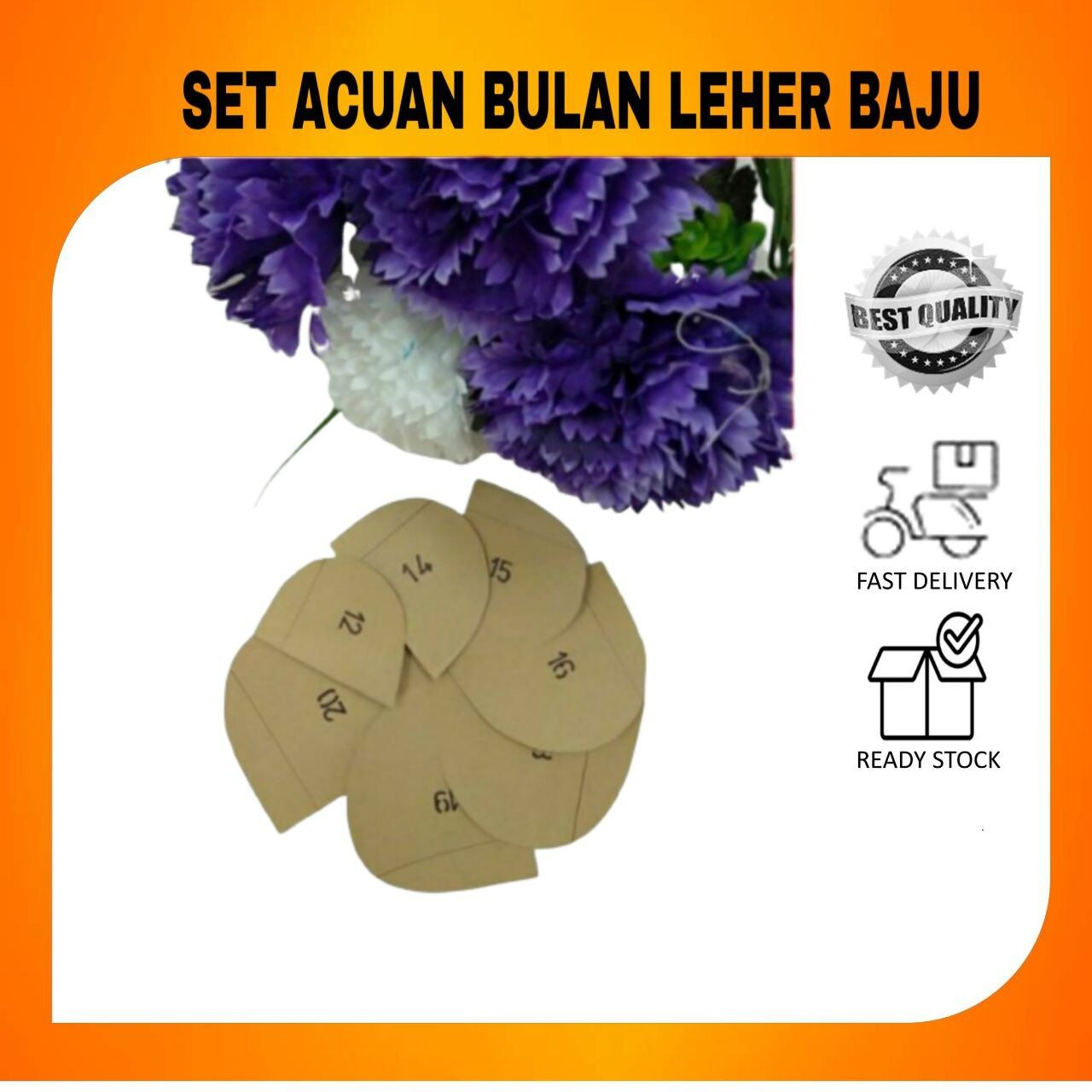 [SUPER SAVE] SET ACUAN BULAN LEHER BAJU