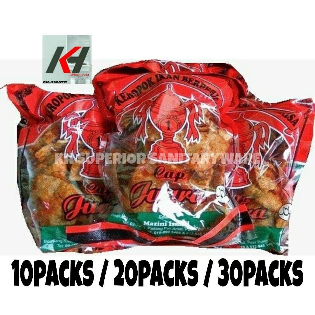 KEROPOK IKAN BERPERISA CAP JUARA 20 PACK READY STOCK