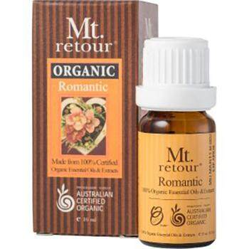MT RETOUR CERTIFIED ORGANIC ROMANTIC ESSENTIAL OIL BLEND 10ML
