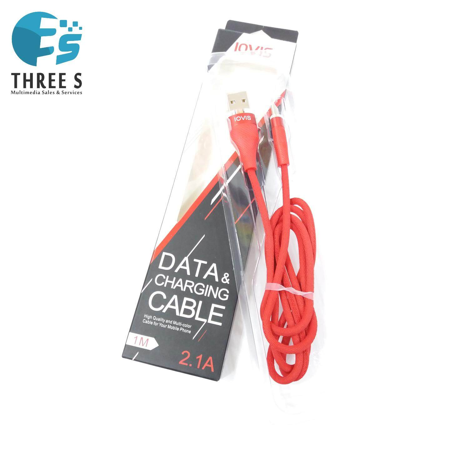 Ready Stock - LOVIS DATA & CHARGING CABLE ANDROID/IPHONE/TYPE C