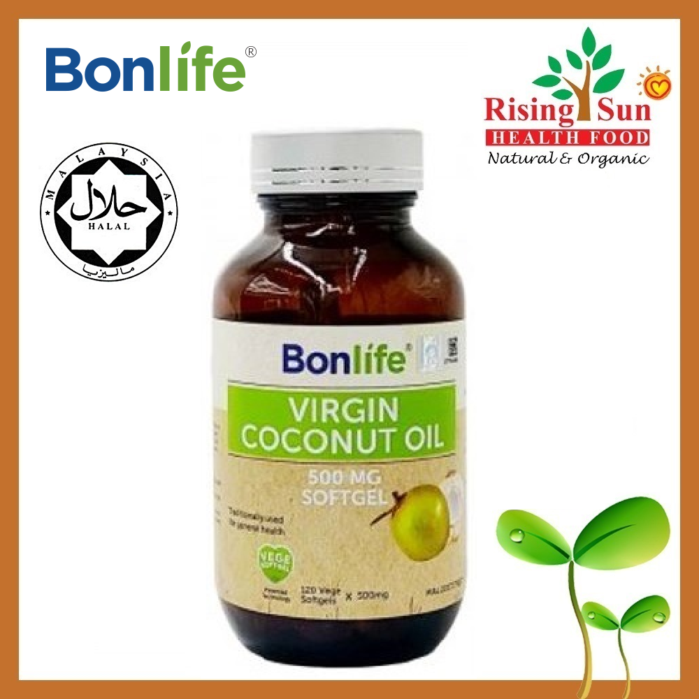 Bonlife Virgin Coconut Oil 120\'s (500mg x 2) - Twin Pack