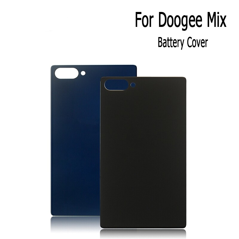For Doogee Mix Battery Case Durable Protective Back Cover Replacement with Tools - BLACK / BLUE