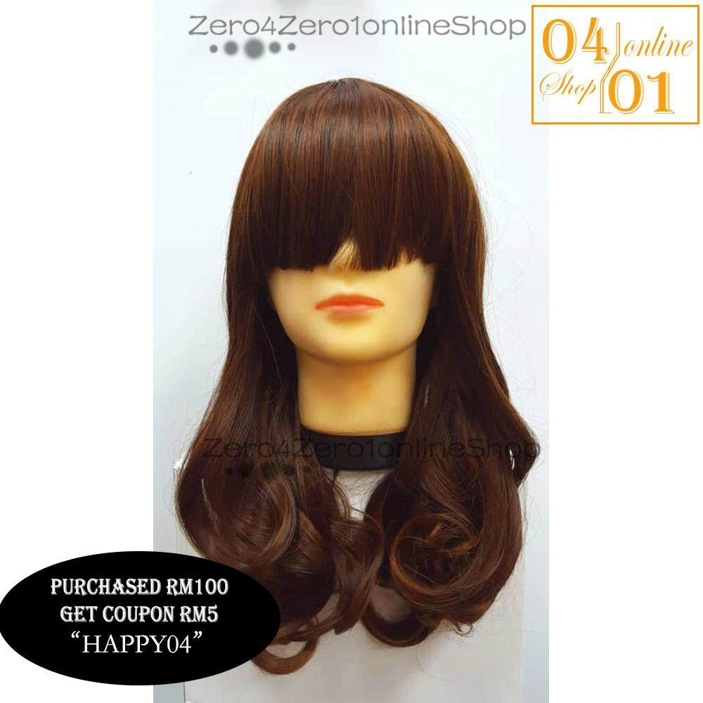 [WIG] High Quality Synthetic Women Long Wig - 5 Color Type