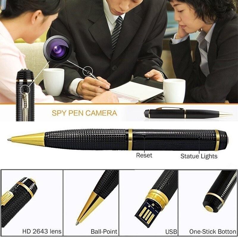Digital MINI HD 1080P Spy Hidden Pen Pinhole DVR Video Recorder Pen Camera