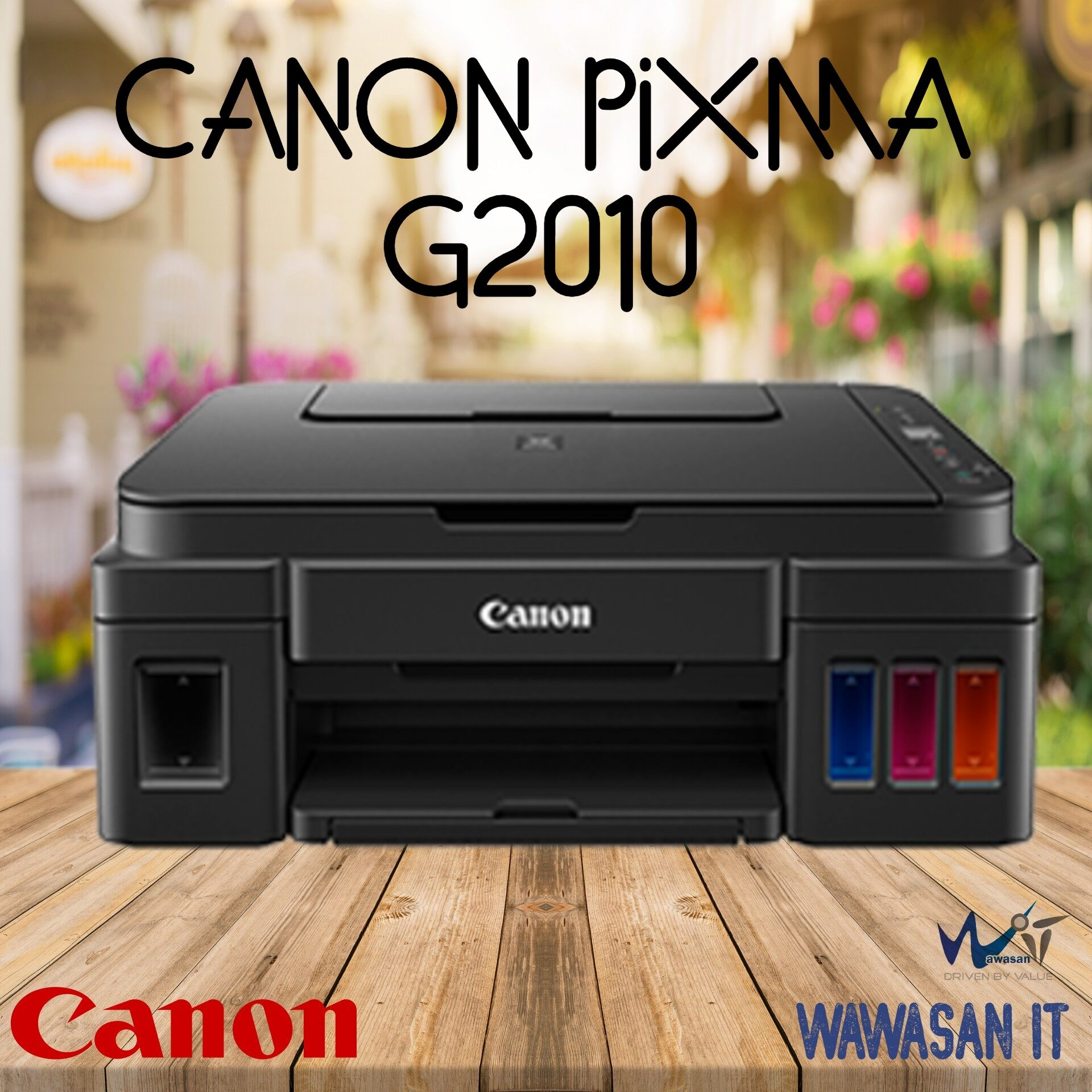 CANON PIXMA G2010 Refillable Ink Tank All-In-One for High Volume Printing, Similar model Canon G3010, Canon G4010 ,HP 415, Epson L3110, Epson L3150, Brother DCP T510w , Brother DCP T310, Brother DCP T710w, Brother DcP T910DW