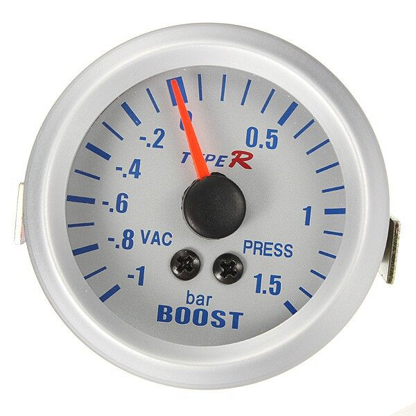 Chains & Locks - Phantom Pointer Boost Vacuum Meter Gauge -1 1.5 BAR - Home Improvement