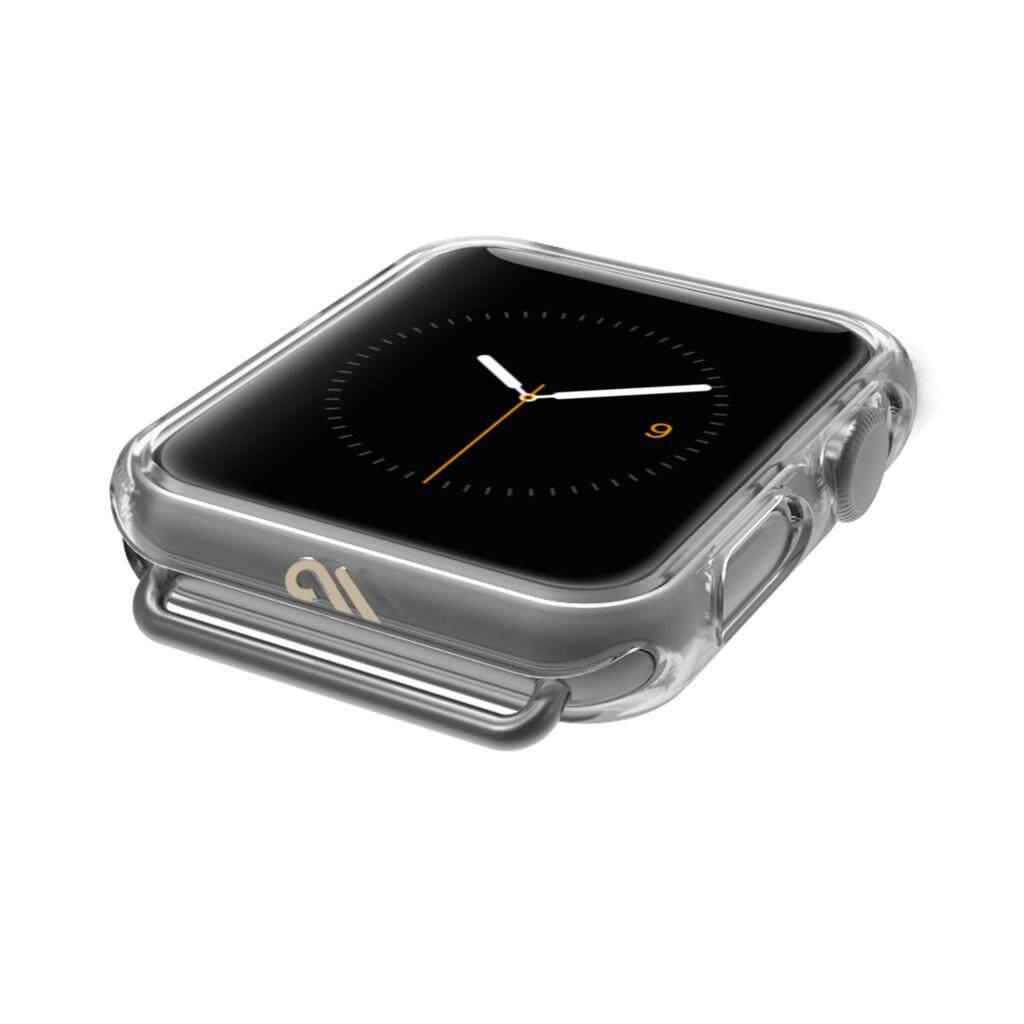 [42mm/44mm] Original Case-Mate - Apple Watch Bumper Case - 42mm 44mm - NAKED TOUGH - Series 4 Apple Watch - Series 3, Series 2, Series 1 - Clear