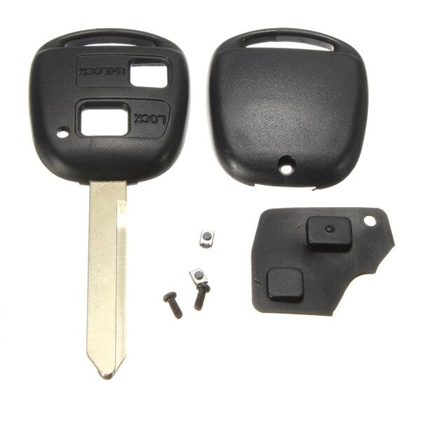 Car Accessories - Toyota Avensis Toy47 Remote Key Switch Rubber Pad Repair Kit 2 Buttons - Automotive