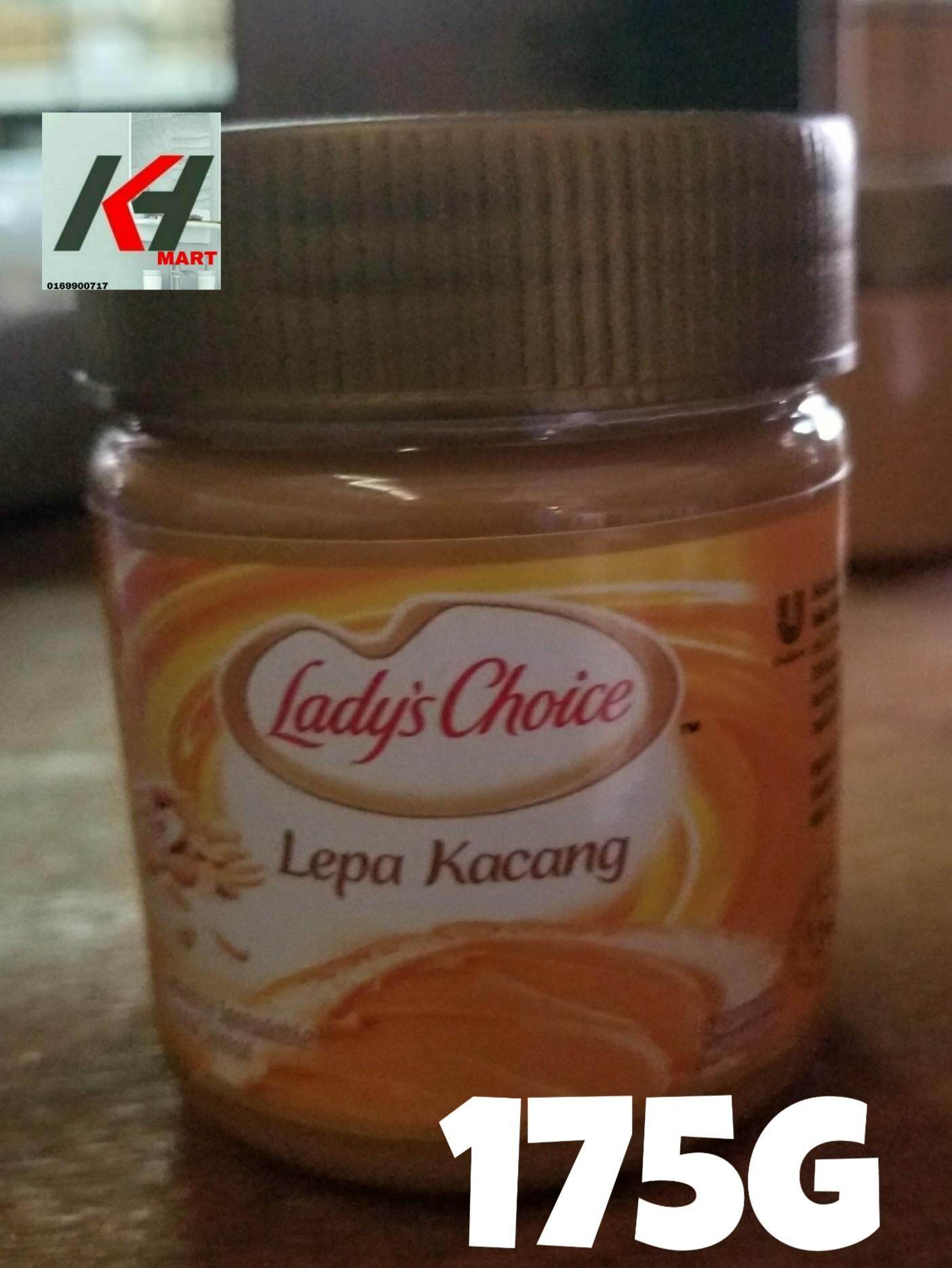 LADY'S CHOICE PEANUT BUTTER (LEPA KACANG) - 160G  READY STOCK