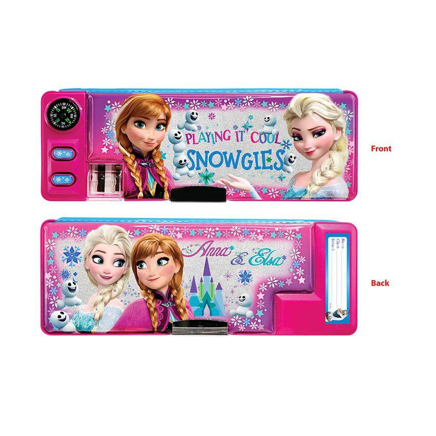 Disney Princess Frozen Big Magnetic Pencil Case - Multicolour