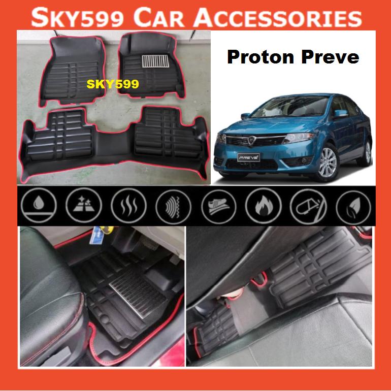 Proton Preve Fit 5D Car Floor Mat/Carpet