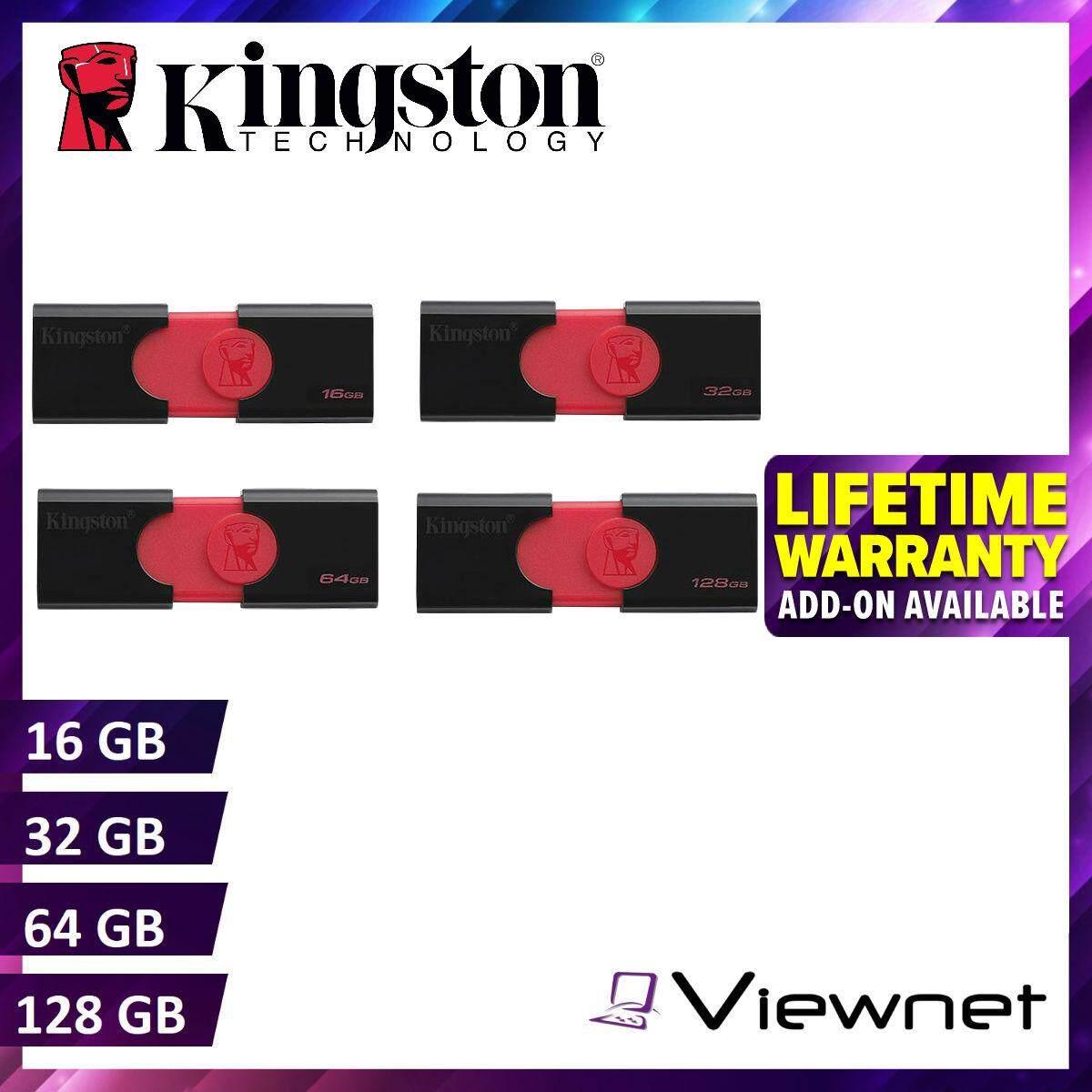 Kingston DataTraveler 106 16GB/32GB/64GB/128GB/256GB USB 3.0 Flash Drive (DT106/16GB/32GB/64GB/128GB/256GB) Pendrive