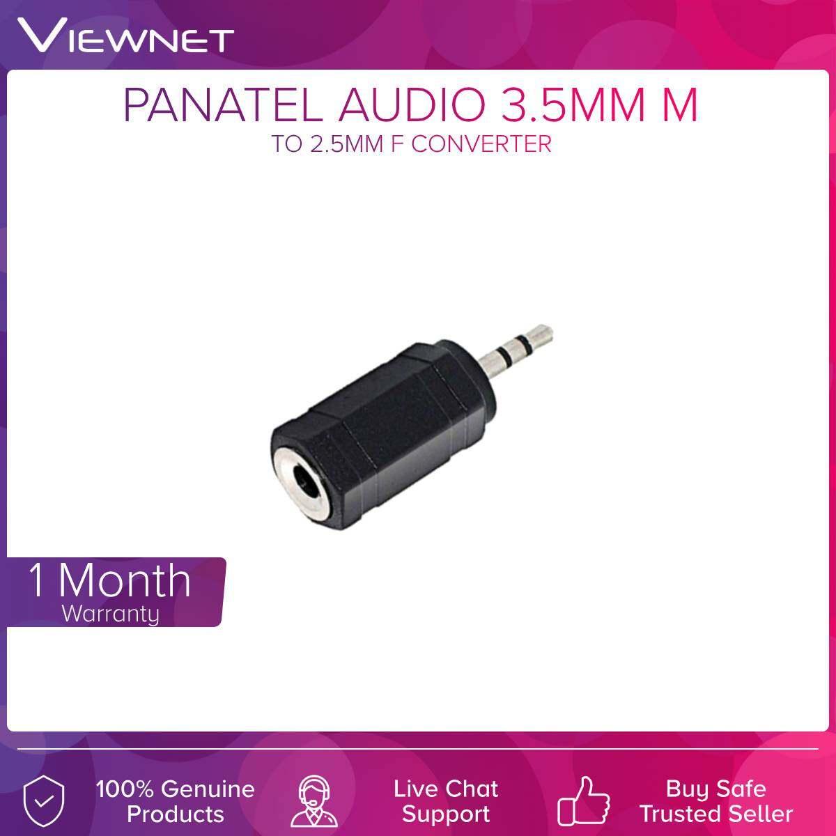 Converter Audio 3.5mm M to 2.5mm F