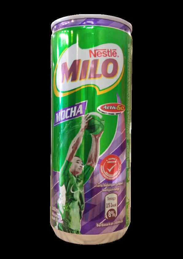 MILO ACTIV-GO Mocha Can 240ml