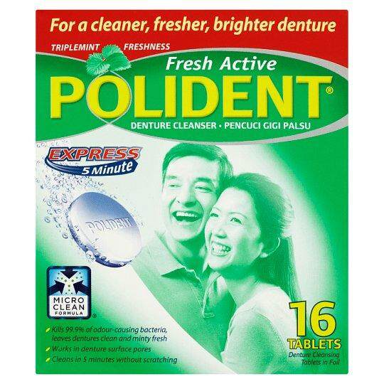 Polident Fresh Active 16's
