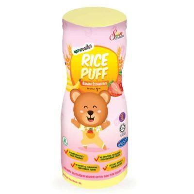 Natufoodies: Rice Puff - Banana Strawberry