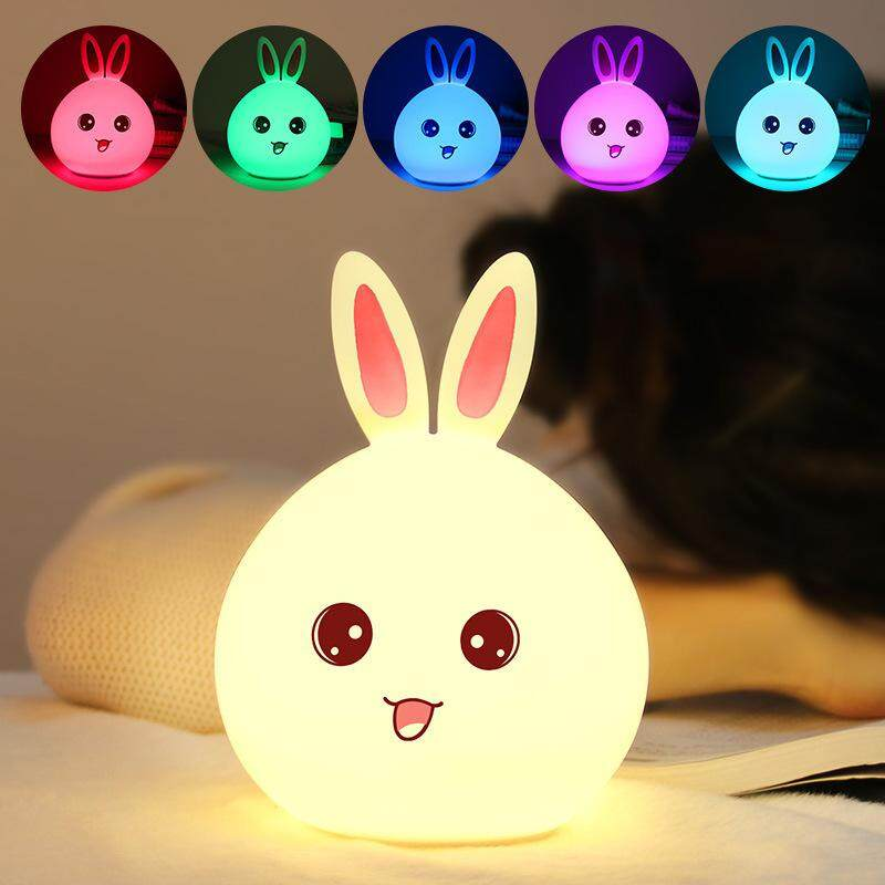 Rabbit LED Desk Decoration Stress Reduce Gifts Toys